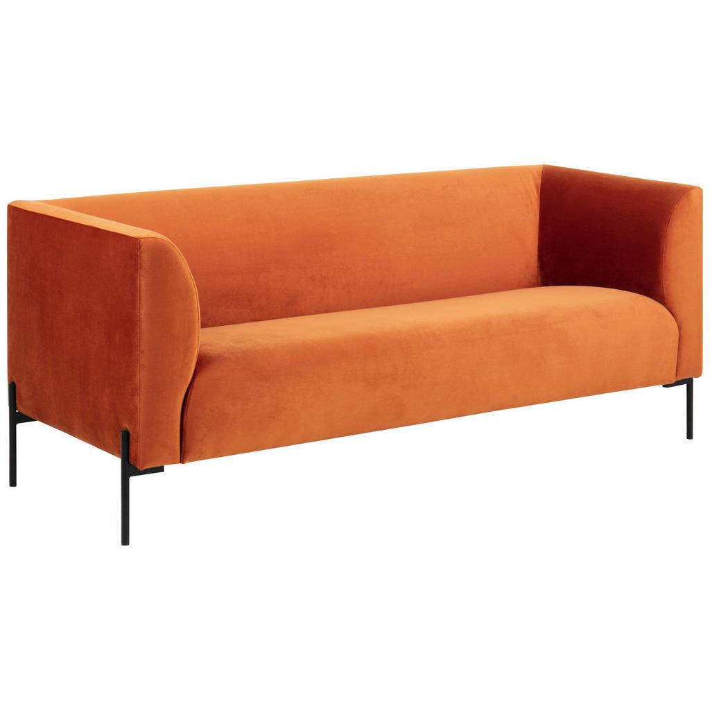 Carryhome 2,5-SITZER Samt Orange