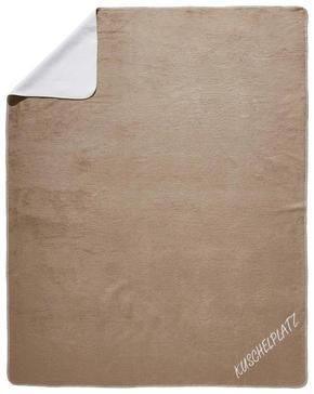 PLÄD - mullvadsfärgad/gråbrun/naturfärgad, Design, textil (150/200cm) - Novel