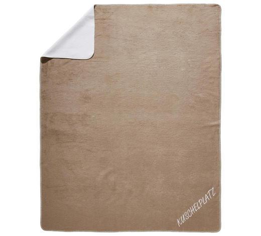 WOHNDECKE 150/200 cm - Taupe/Naturfarben, Design, Textil (150/200cm) - Novel