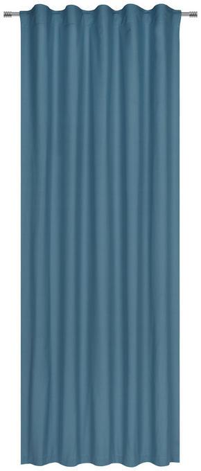GARDINLÄNGD - petrol, Basics, textil (140/255cm) - Esposa