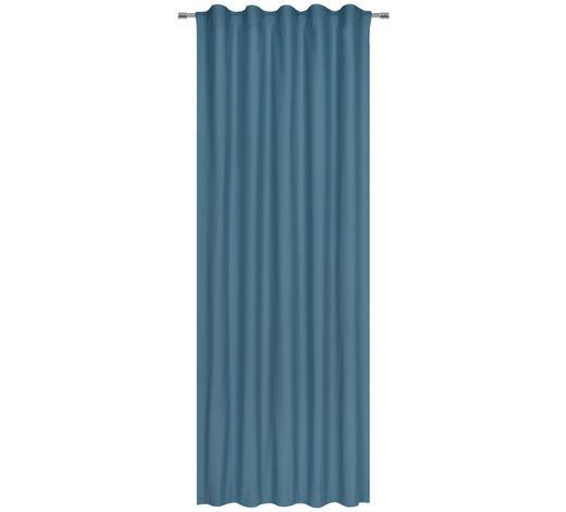 FERTIGVORHANG blickdicht - Petrol, Basics, Textil (140/255cm) - Esposa