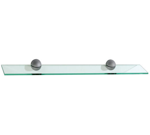 GLASABLAGE in Transparent  - Transparent, KONVENTIONELL, Glas (72/8/10cm) - Xora