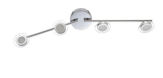 LED-STRAHLER - Design, Kunststoff/Metall (92/15/9cm)