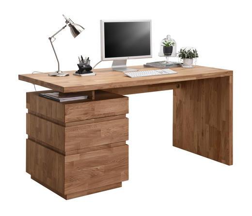 Schreibtisch Wildeiche Massiv Eichefarben Online Kaufen Xxxlutz