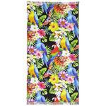 HAMAMTUCH 90/160 cm  - Blau/Gelb, Design, Textil (90/160cm) - Esposa