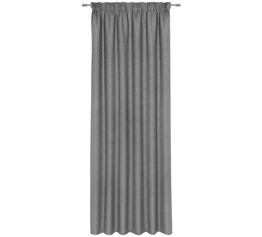 ZÁVĚS, neprůsvitné, 140/300 cm - šedá, Konvenční, textil (140/300cm) - Esposa