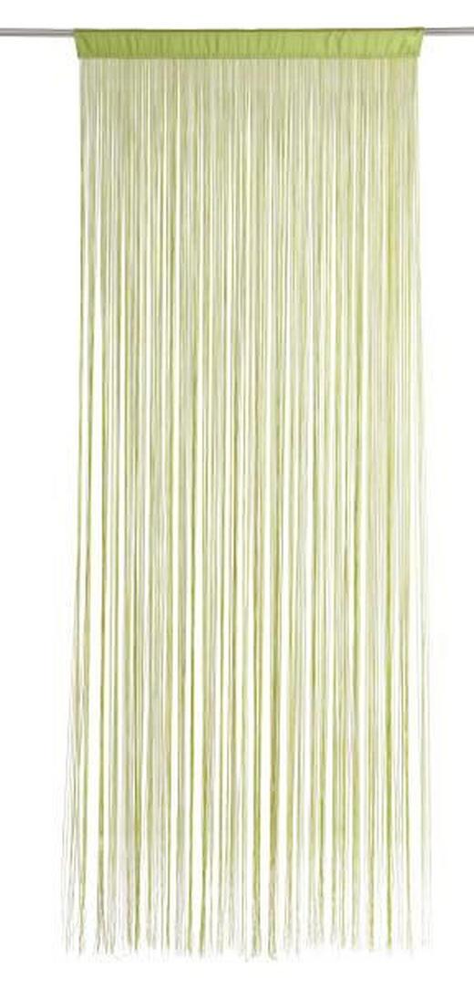 FADENSTORE  transparent  90/245 cm - Grün, Basics, Textil (90/245cm) - BOXXX