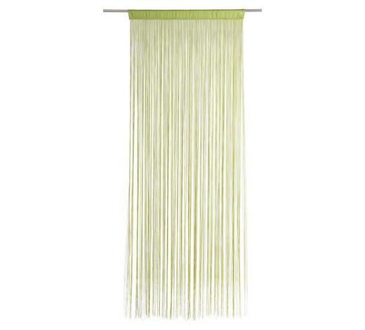 ZÁCLONA PROVÁZKOVÁ, 90/245 cm, zelená - zelená, Basics, textil (90/245cm) - Boxxx