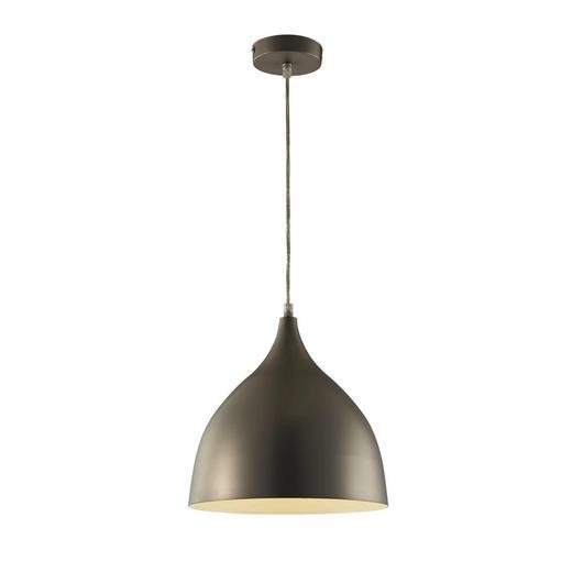HÄNGELEUCHTE - Silberfarben, MODERN, Metall (25/150cm)
