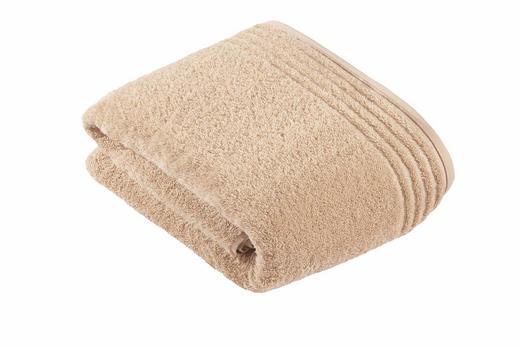BADETUCH - Beige, Basics, Textil (100/150/cm) - Vossen