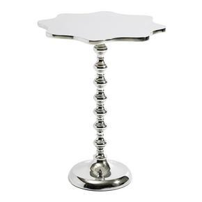 AVLASTNINGSBORD - nickelfärgad, Trend, metall (43/52cm) - Carryhome