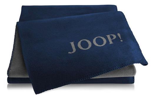 WOHNDECKE 150/200 cm Dunkelblau, Schieferfarben - Schieferfarben/Dunkelblau, Textil (150/200cm) - Joop!