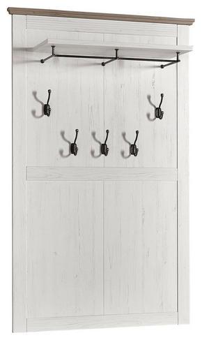 KLÄDHÄNGARE - pinjefärgad/mullvadsfärgad/gråbrun, Lifestyle, träbaserade material (99/159/30cm) - Landscape