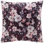 Zierkissen Rosi - Schwarz, ROMANTIK / LANDHAUS, Textil (40/40cm) - James Wood