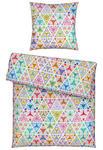 BETTWÄSCHE Seersucker, Renforcé Multicolor 155/220 cm  - Multicolor, KONVENTIONELL, Textil (155/220cm) - Esposa