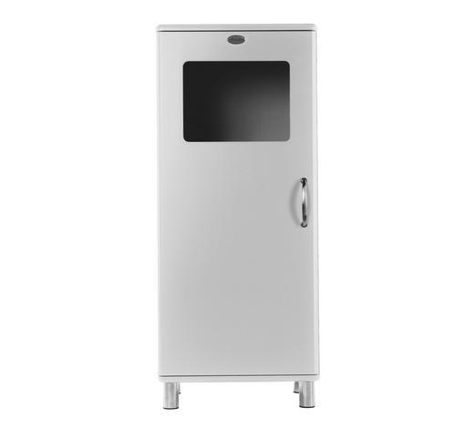 KOMMODE lackiert, Melamin Weiß  - Weiß/Nickelfarben, Design, Holzwerkstoff/Metall (60/143/44cm) - Carryhome