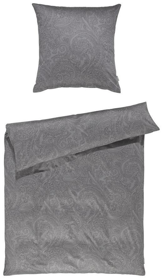 BETTWÄSCHE Satin Anthrazit 135/200 cm - Anthrazit, Basics, Textil (135/200cm) - Ambiente