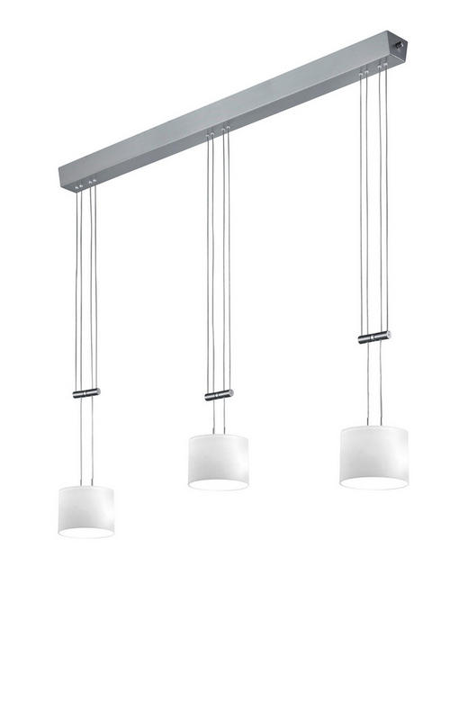 LED-HÄNGELEUCHTE - MODERN, Glas/Metall (106/150cm) - Bankamp
