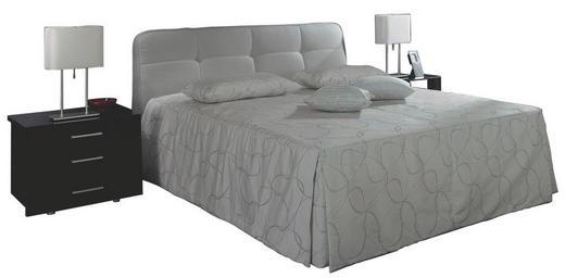 POLSTERBETT 140/200 cm - Grau, Basics, Textil (140/200cm) - RUF