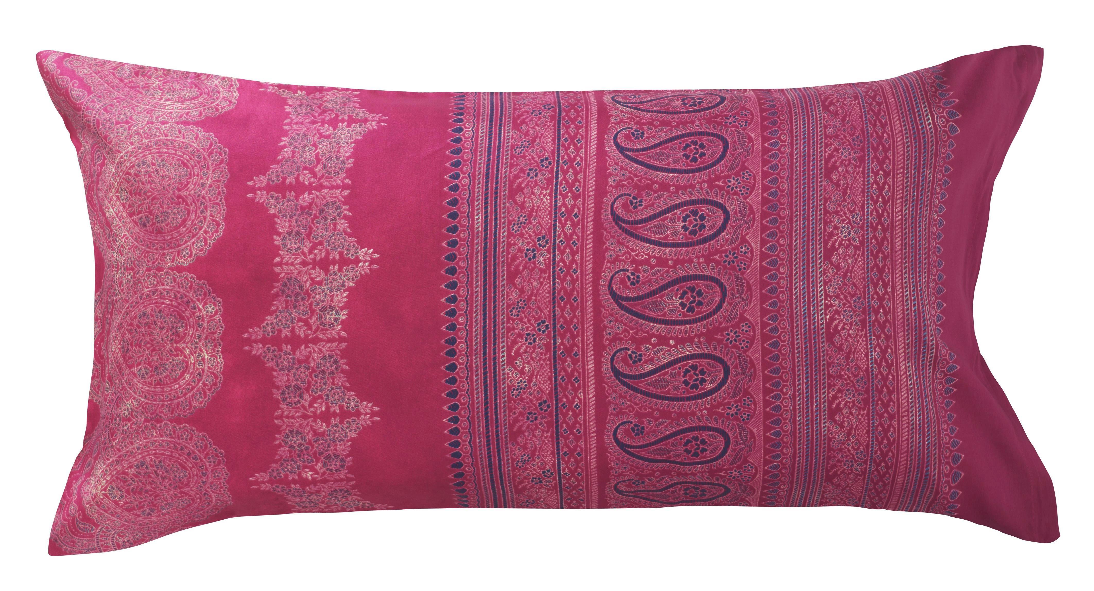 KISSENHÜLLE Magenta - Magenta, LIFESTYLE, Textil (40/80cm) - BASSETTI