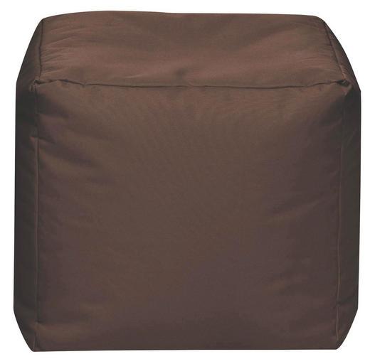 SITZWÜRFEL Braun - Braun, Design, Textil (40/40/40cm) - Carryhome