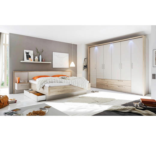 Schlafzimmer In Champagner Eichefarben Online Kaufen Xxxlutz