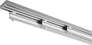 FLÄCHENVORHANGSCHIENE  210 cm  - Silberfarben, Basics, Metall (210cm) - Homeware