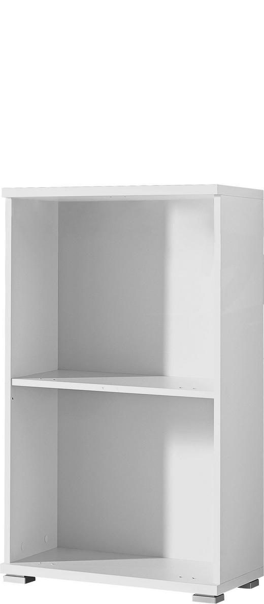 SCHUHSCHRANK Weiß - Silberfarben/Weiß, Design, Holzwerkstoff/Kunststoff (53/91/30cm) - Xora
