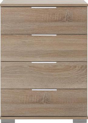SÄNGBORD - alufärgad/kromfärg, Design, metall/träbaserade material (52/74/38cm) - Carryhome
