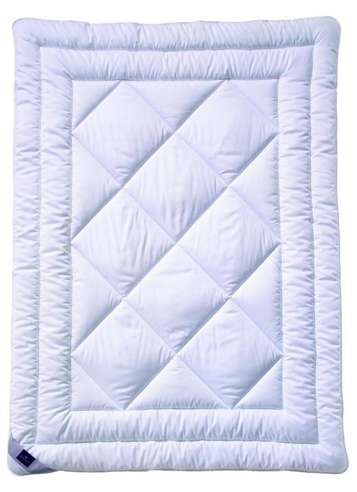 EINZIEHDECKE 135-140/200 cm - Weiß, Basics, Textil (135-140/200cm) - Billerbeck