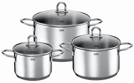 SET POSOD 3/1 CARAT - aluminij, Konvencionalno, kovina (52/29,5/20,5cm) - Silit