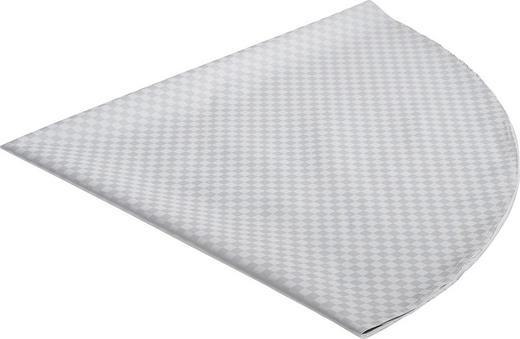 TISCHDECKE Textil Silberfarben 170 cm - Silberfarben, Basics, Textil (170cm)
