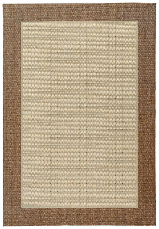 FLACHWEBETEPPICH  60/110 cm  Braun, Naturfarben - Braun/Naturfarben, Basics, Textil (60/110cm) - Boxxx