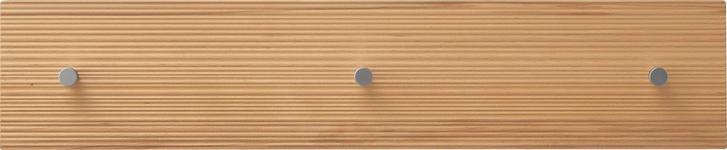 HAKENLEISTE - Buchefarben, Natur, Holz (80/17/2cm) - Dieter Knoll
