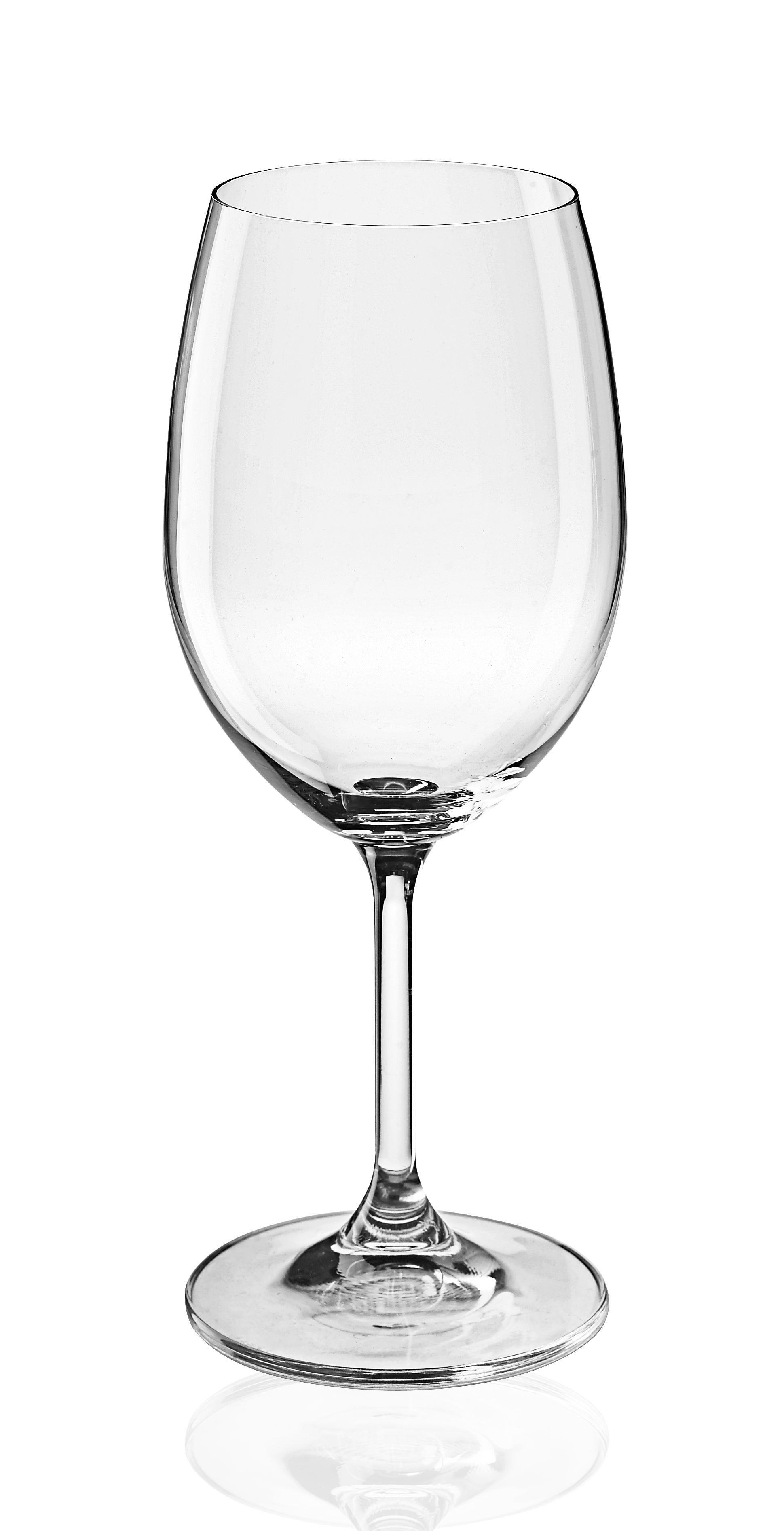 KOZAREC ZA RDEČE VINO - prozorna, Konvencionalno, steklo (0.45l) - HOMEWARE
