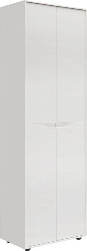 GARDEROB - vit, Design, träbaserade material (61,4/196,3/38cm) - Novel
