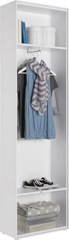 GARDEROBE - Weiß, Design, Holzwerkstoff (62/213/30cm) - Hom`in