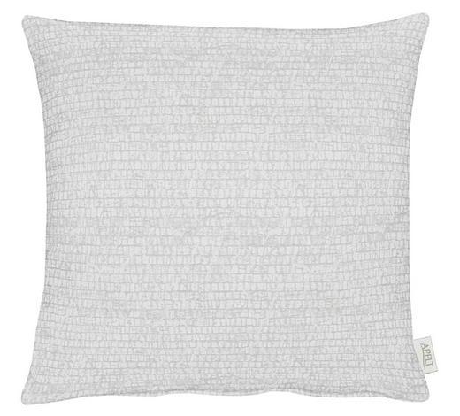 KISSENHÜLLE Creme, Weiß  - Creme/Weiß, Design, Textil (49x49cm) - Ambiente