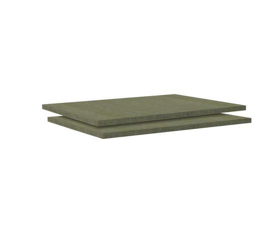 EINLEGEBODENSET - Braun, MODERN, Holzwerkstoff (87,9/1,8/54,4cm) - Hom`in
