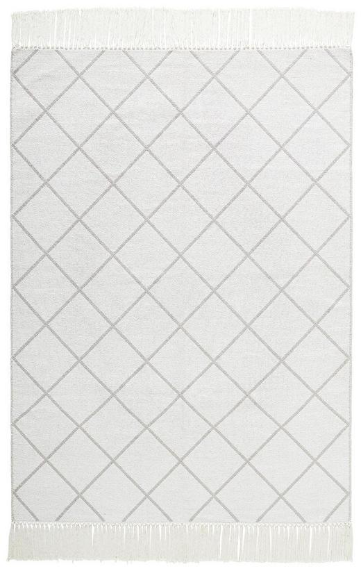 WEBTEPPICH  140/200 cm  Creme - Creme, Textil (140/200cm)