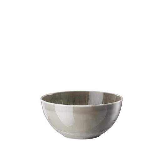 SUPPENSCHALE Porzellan - Grau, Basics, Keramik (19cm)