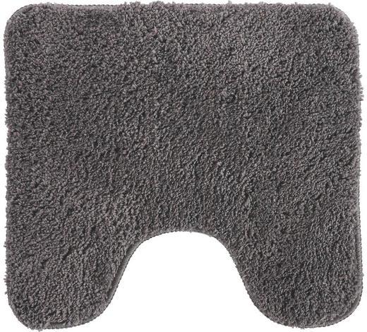 Wc-vorleger in Grau 45/50 cm  - Grau, Basics, Naturmaterialien/Textil (45/50cm) - Esposa