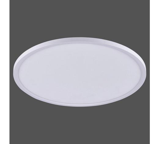 LED-DECKENLEUCHTE   - Weiß, Design, Metall (60/0,7cm) - Novel