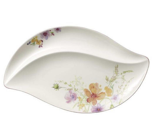 SERVIERPLATTE - Multicolor/Weiß, KONVENTIONELL, Keramik (50/30cm) - Villeroy & Boch