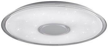 LED-DECKENLEUCHTE - Weiß, Design, Kunststoff (60/6,5cm) - Novel