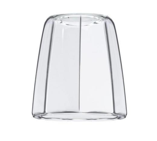 SCHIENENSYSTEM-LEUCHTENSCHIRM   - Klar, Design, Glas (8/9,5cm)