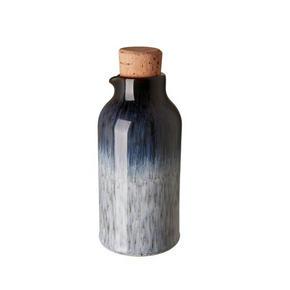 OLJEFLASKA - vit/brun, Basics, keramik (0,24cm) - Denby