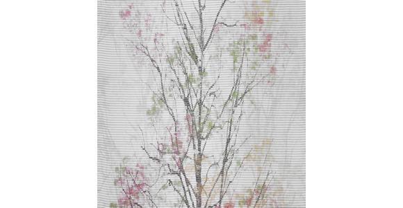 FLÄCHENVORHANG in Grün, Weiß  - Weiß/Grün, Design, Textil (60/255cm) - Novel