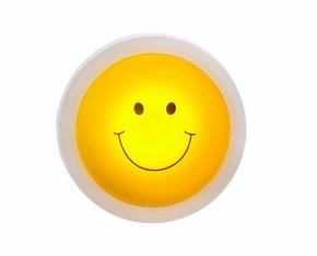 LED-LAMPA - vit/gul, Basics, plast (10/4,3cm)