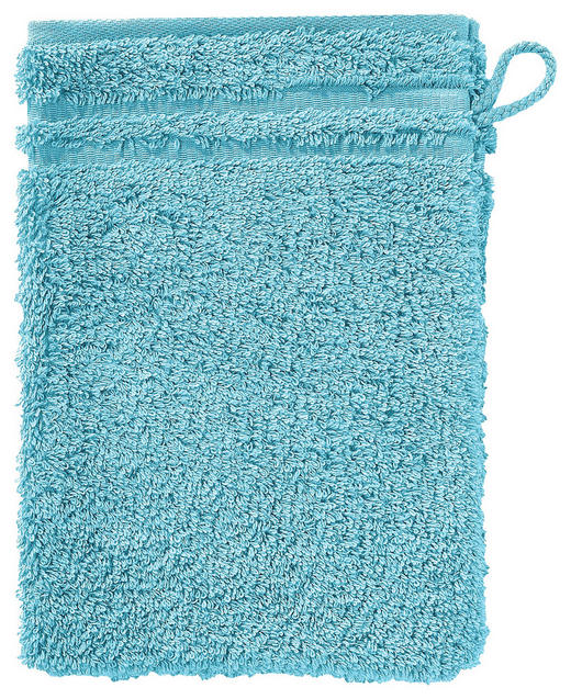 WASCHHANDSCHUH  Hellblau - Hellblau, Basics, Textil (22/16cm) - VOSSEN